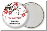 Floral Blossom - Personalized Bridal Shower Pocket Mirror Favors