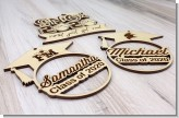 Personalized Graduation Tag, Graduation Wood Tags, Senior Grad Tag, College Graduation Tag