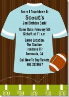 Football - Birthday Party Invitations