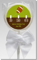 Football - Personalized Birthday Party Lollipop Favors