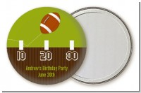 Football - Personalized Birthday Party Pocket Mirror Favors