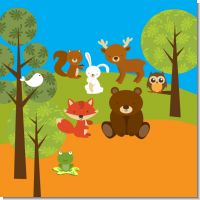 Forest Animals Baby Shower Theme