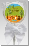 Forest Animals - Personalized Baby Shower Lollipop Favors