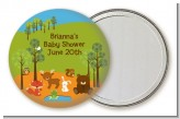 Forest Animals - Personalized Baby Shower Pocket Mirror Favors