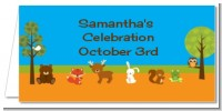 Forest Animals - Personalized Baby Shower Place Cards