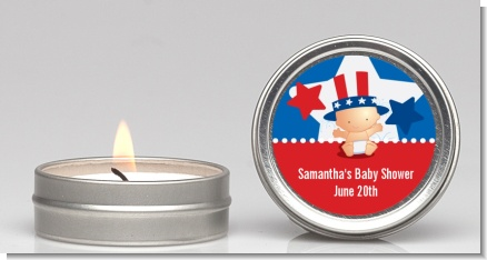 Fourth Of July Little Firecracker - Baby Shower Candle Favors