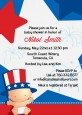 Fourth Of July Little Firecracker - Baby Shower Invitations thumbnail