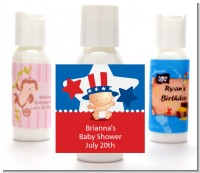 Fourth Of July Little Firecracker - Personalized Baby Shower Lotion Favors