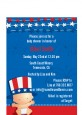 Fourth Of July Stars & Stripes - Baby Shower Petite Invitations thumbnail
