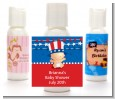 Fourth Of July Stars & Stripes - Personalized Baby Shower Lotion Favors thumbnail
