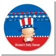 Fourth Of July Stars & Stripes - Personalized Baby Shower Table Confetti thumbnail