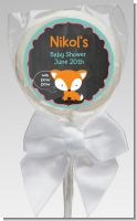Fox and Friends - Personalized Baby Shower Lollipop Favors