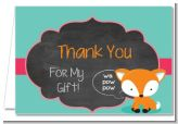 Fox and Friends - Baby Shower Thank You Cards