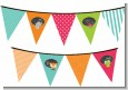 Fox and Friends - Baby Shower Themed Pennant Set thumbnail