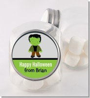 Frankenstein - Personalized Halloween Candy Jar
