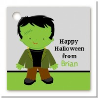 Frankenstein - Personalized Halloween Card Stock Favor Tags