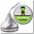 Frankenstein - Hershey Kiss Halloween Sticker Labels thumbnail