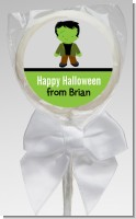 Frankenstein - Personalized Halloween Lollipop Favors
