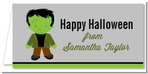 Frankenstein - Personalized Halloween Place Cards