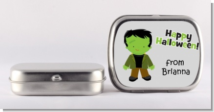 Frankenstein - Personalized Halloween Mint Tins