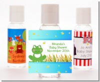 Froggy - Personalized Baby Shower Hand Sanitizers Favors