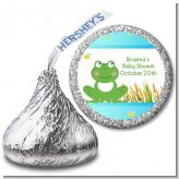 Froggy - Hershey Kiss Baby Shower Sticker Labels