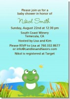 Froggy - Baby Shower Invitations