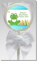 Froggy - Personalized Baby Shower Lollipop Favors