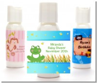 Froggy - Personalized Baby Shower Lotion Favors