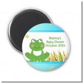 Froggy - Personalized Baby Shower Magnet Favors