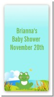 Froggy - Custom Rectangle Baby Shower Sticker/Labels