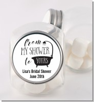 From My Shower - Personalized Bridal Shower Candy Jar