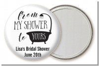 From My Shower - Personalized Bridal Shower Pocket Mirror Favors