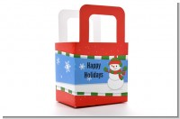 Frosty the Snowman - Personalized Christmas Favor Boxes