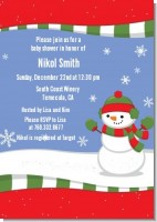 Frosty the Snowman - Christmas Invitations