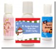 Frosty the Snowman - Personalized Christmas Lotion Favors thumbnail