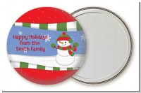 Frosty the Snowman - Personalized Christmas Pocket Mirror Favors