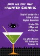 Funky Martini - Halloween Invitations thumbnail