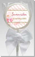 Fun to be One - 1st Birthday Girl - Personalized Birthday Party Lollipop Favors