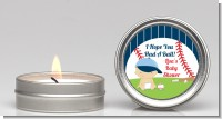 Future Baseball Player - Baby Shower Candle Favors