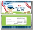 Future Baseball Player - Personalized Baby Shower Candy Bar Wrappers thumbnail