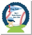 Future Baseball Player - Personalized Baby Shower Centerpiece Stand thumbnail