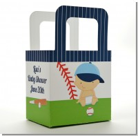 Future Baseball Player - Personalized Baby Shower Favor Boxes