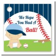 Future Baseball Player - Personalized Baby Shower Card Stock Favor Tags thumbnail