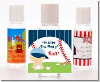 Future Baseball Player - Personalized Baby Shower Hand Sanitizers Favors