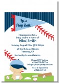 Future Baseball Player - Baby Shower Petite Invitations