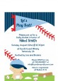 Future Baseball Player - Baby Shower Petite Invitations thumbnail