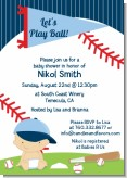 Future Baseball Player - Baby Shower Invitations