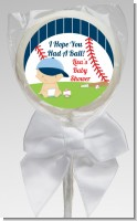 Future Baseball Player - Personalized Baby Shower Lollipop Favors