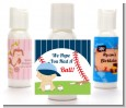 Future Baseball Player - Personalized Baby Shower Lotion Favors thumbnail